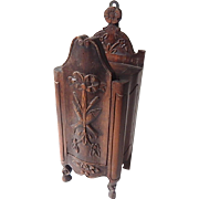 "SALE French Antique Provencal ""Fariniere"" or Flour Box"