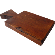 Country French Vintage  Cutting Board Wood Bread Board