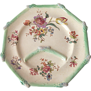 Majolica French Longchamp Asparagus Plate