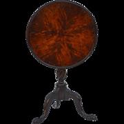 George III style Mahogany Candlestand