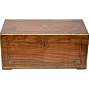 China Trade Camphourwood Chest, second half 19th C.