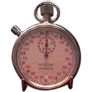 SALE Vintage Majestime Seven Jewel 1/10th Stop Watch