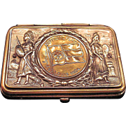 Antique Match Safe St. Louis 1904 World Fair Commemorative