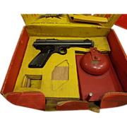 SOLD 1950s Vintage Collectible Crosman Pellet Gun .22 Caliber w/ Box and Bell