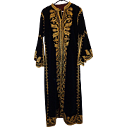 SALE Vintage Handmade Persian Robe Gold Thread Men's Royal Garment Costume