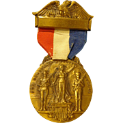 WWI Victory Medal World War Cambridge Illinois Henry County 1920