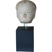SALE Han Dynasty Pottery Head of a Female Attendant Chinese Pottery 2nd century BC