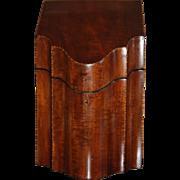 SALE 18th century Georgian / Regency Knife Box George III Hepplewhite Style Inlaid Mahogany ..