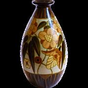Belgian Boch Freres Pottery Vase