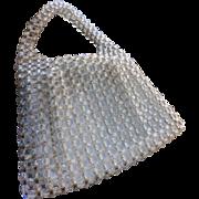 SALE Delill Lucite Handbag Purse Handmade in Italy 1950s