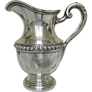 Puiforcat: Sterling Silver Milk jug - Louis XVIth style - France Early 20th Century