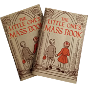 Two 1964 Children's Mass Books