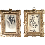 Framed Prints of Christ and His Sorrowful Mother