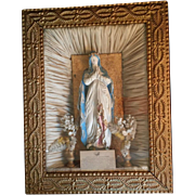 Victorian Petition to the Blessed Virgin Shadowbox