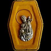 Saint Joseph and Infant Christ Plaque