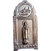 French Saint Therese of Lisieux Plaque