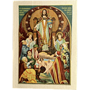 Prayer for Catholic Missions Holy Card