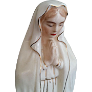 Mid-Century Blessed Virgin Mary Statue