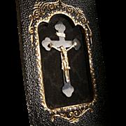 SALE Tri-fold Wallet Crucifix with ID card