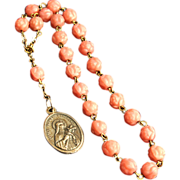 SALE PENDING Little Flower of St. Therese Chaplet / Rosary