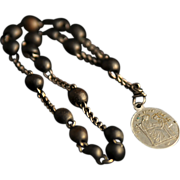 REDUCED Gutta Percha Chaplet Rosary of St. Anne