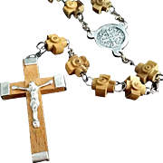 Olive Wood Rosary from Jerusalem