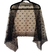 REDUCED Magnificent Long Chapel Veil Mantilla