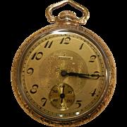 Vintage Gold Filled ELGIN Watch Co. 15 Jewel Pocket Watch