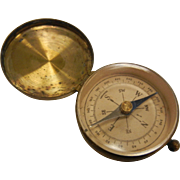 Vintage German Brass Directional Compass