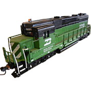SALE PENDING HO-Scale Model Train Engine - 1976 Fundimensions LIONEL - Burlington Northern 221
