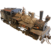SOLD HO-Scale Model Train Engine - Carner Bros Shingle Mills