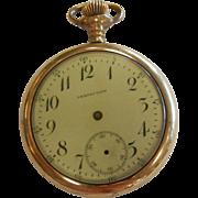 Vintage Perfection Pocket Watch CASE ONLY w/ Engraved Elk Decor