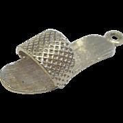 Sterling Silver Sandal Charm