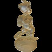 Vintage Goebel Frosted Crystal Figurine Germany 1992 MJ Hummel