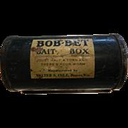 Vintage BOB-BET Metal Bait Box
