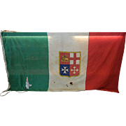 Large Merchant Flag of Italy