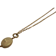 Sterling Silver Necklace Chain w/ Shell Charm