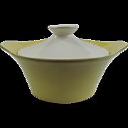 SALE Mid Century Modern Covered Casserole Dish ~ Shawnee Pottery
