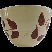 SALE SCARCE Watt 1959 Autumn Foliage Mixing Bowl Number 65