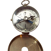 Vintage German Compass with Case