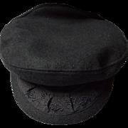 Vintage Wool Greek Fishermans Hat