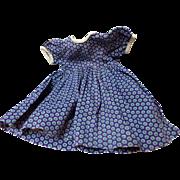 Vintage Cotton Doll Dress