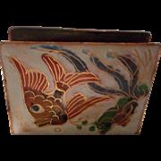 Vintage Enameled Match Box Cover