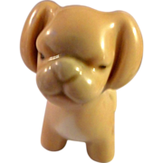 2 1/2 inch Porcelain pug dog marked Lladro NAO