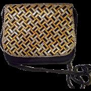Vintage Black Beaded Walborg Purse, Clutch