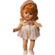 "Adorable 8inch Strung ""Ginny"" by Vogue Dolls Tagged Outfit"