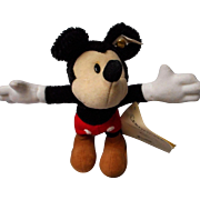 Steiff Limited Ed. Mickey Mouse, 70th Birthday