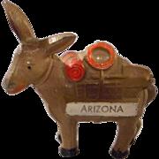 Cast Metal Donkey, Vintage