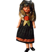 All Original German All Bisque Doll