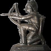 Vintage German Soft Metal Figurine